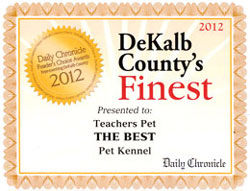 Award - Best Kennel!
